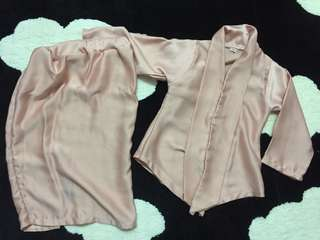 Kids Kebaya Dusty Pink