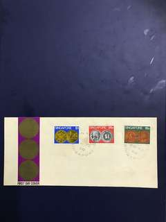 Singapore FDC as in Pictures-last piece