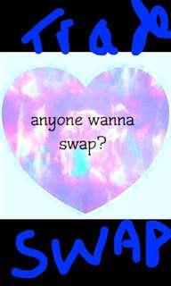 ANYINE KEEN TO SWAP?!