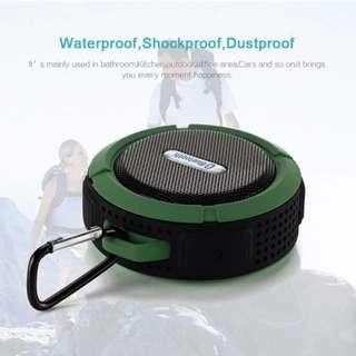 Portable water proof wireless bluetooth outdoor speaker (1 month local warranty)