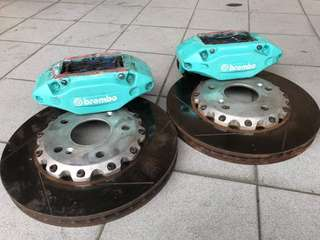 4 pot brakes with 315 roto for Honda CR-Z