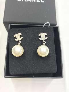 Chanel Earrings 閃石珍珠耳環 全新購自巴黎