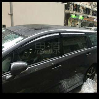 Toyota wish 20系防曬隔熱窗網