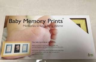 Baby gift - baby memory prints