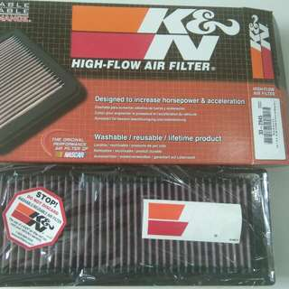 Audi K&N Drop-In filter