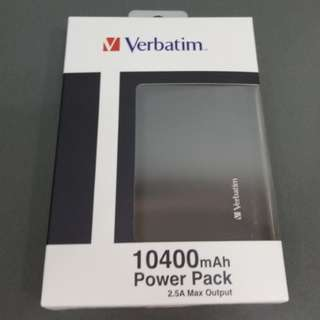 Verbatim 10400 mAh Power Pack