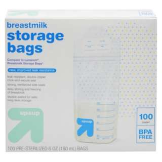 Up&Up Breastmilk Storage Bags - 100pcs/pack
