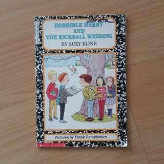 Horrible Harry and the Kickball Wedding Book