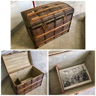 古蕫寶箱(不是現代仿品)