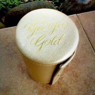 Giorgio Beverly Hills  gold Beauty case (ori)