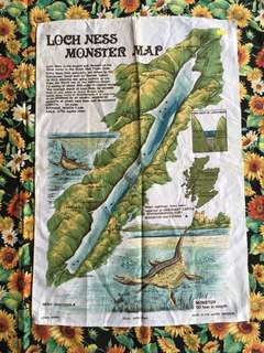 Vintage Loch Ness Monster Poster