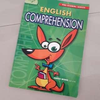 Kindergarten English comprehension assessment book