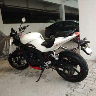 Must Go! ASAP. Naza Blade Naked 250cc. Mark down!