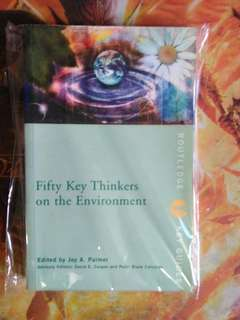 Fifty Key Thinkers on the Environments