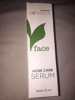 Mineral botanica serum & toner ( acne care )