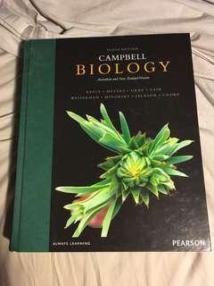 Campbell Biology textbook