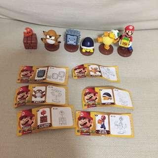 All For $10 - BN Furuta Super Mario figurines