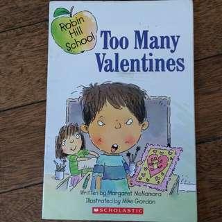 Too Much Valentines Book