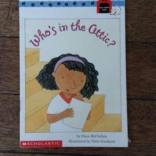 Who's in the Attic Book