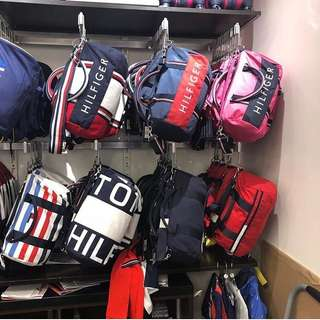 Pre-order: TOMMY HILFIGER DUFFLE BAGS