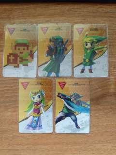 30th Anniversary The Legend of Zelda Amiibo Cards (Standalone)