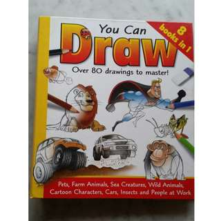 You can Draw Book - over 80 drawing to master