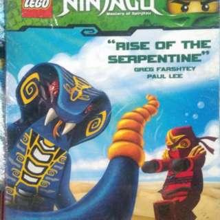 Ninjago Rise of the Serpentine Comic