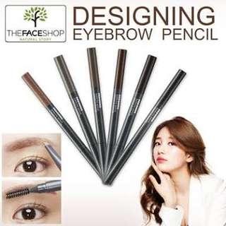 [ THE FACE SHOP ] Eyebrow pencil #graybrown
