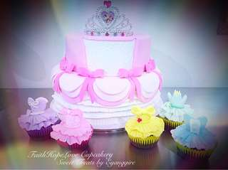 Princess Fondant Cake Set
