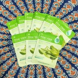 Rorec aloevera sheet mask
