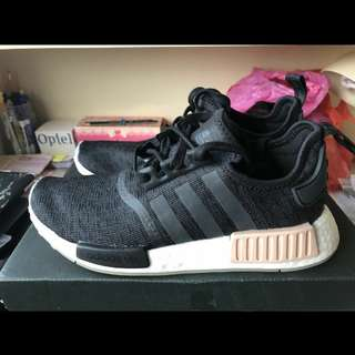 Adidas NMD Women's size 7.5US (Black/Pink/White)