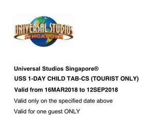 USS Tickets for 1 Child (tourist only)