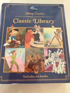 BNIP DisneyClassic Library with 6 Stories Books