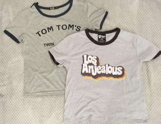 Gray Tbar shirts