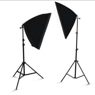 (Delivery) Photoshoot Light Kit