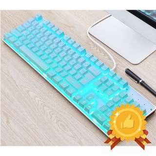 Semi-Mechanical Icy Cool Gaming Keyboard SE45
