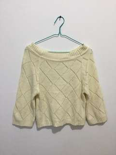 Sweater croptee
