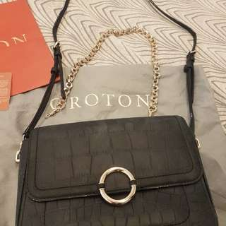 Oroton Medium Clutch Bag 2 straps