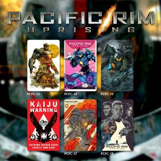 Custom E-money Flazz dan Brizzi card design Pacific Rim 3