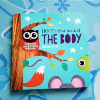 (BNEW) Hoot's First Book of the Body