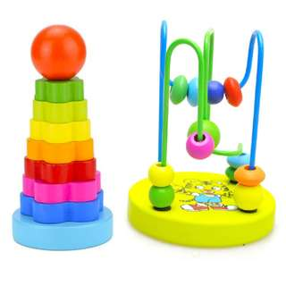 Stacker Bead Maze Toddler Bundle 1