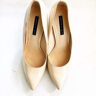 C&k nude heels