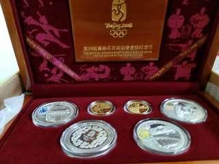 2008北京奧運會金銀幣第1至3套