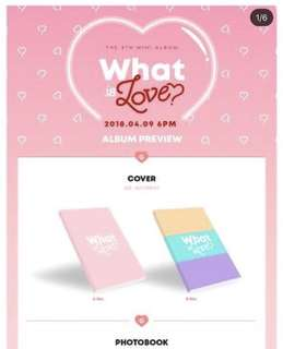 [PREORDER] Twice - What Is Love
