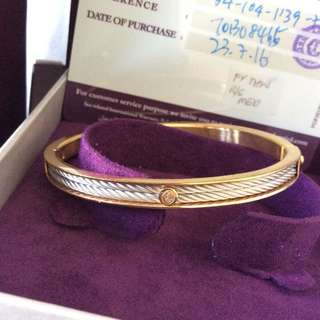 Charriol Forever Young Thin Bangle