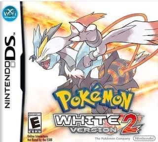 3DS:Pokemon White Version 2
