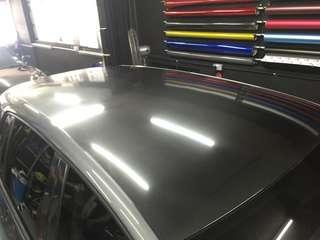 Golf Roof 6D Carbon fiber wrap