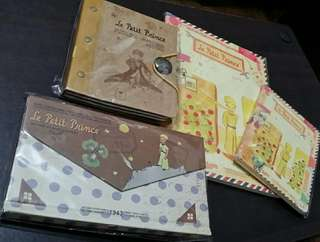 Includes shipping (Metro Manila): Set of 4 The Little Prince Notebooks