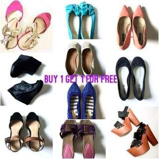Preloved Shoes for Sale (Buy 1 Get 1)