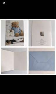 🐻Cute Baby Teddy Bear Greetings Card